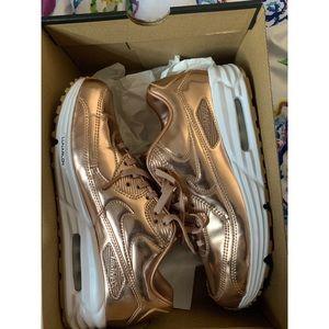 Custom Gold Air max 90's